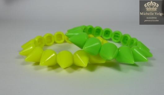neon, spikes, pulseiras, verão2013, fluor, fluorescente, compre aqui, venda online, comprar