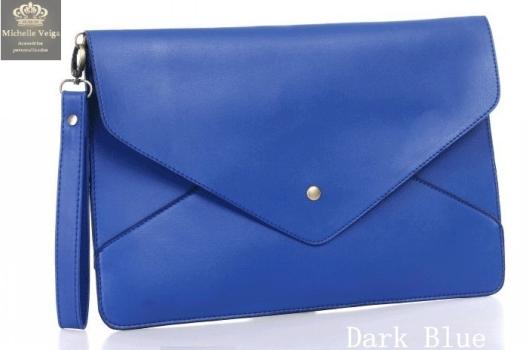 Bolsa envelope, clutch azul klein, azul bic, comprar, venda online, bolsa azul, verão2013