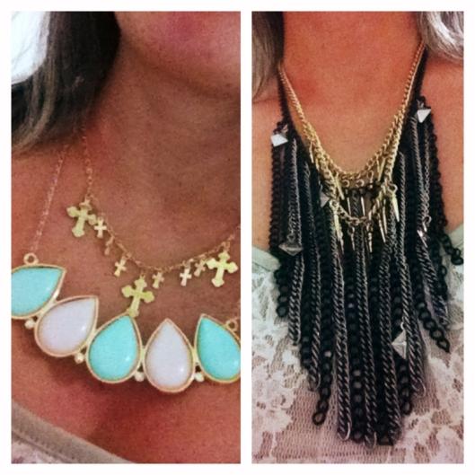 mix de colares, varios colares, misturar colares, comprar colares, loja online