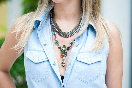 mix, colares, varios colares juntos, misturar colares, acessorios, colares como usar, loja online, comprar