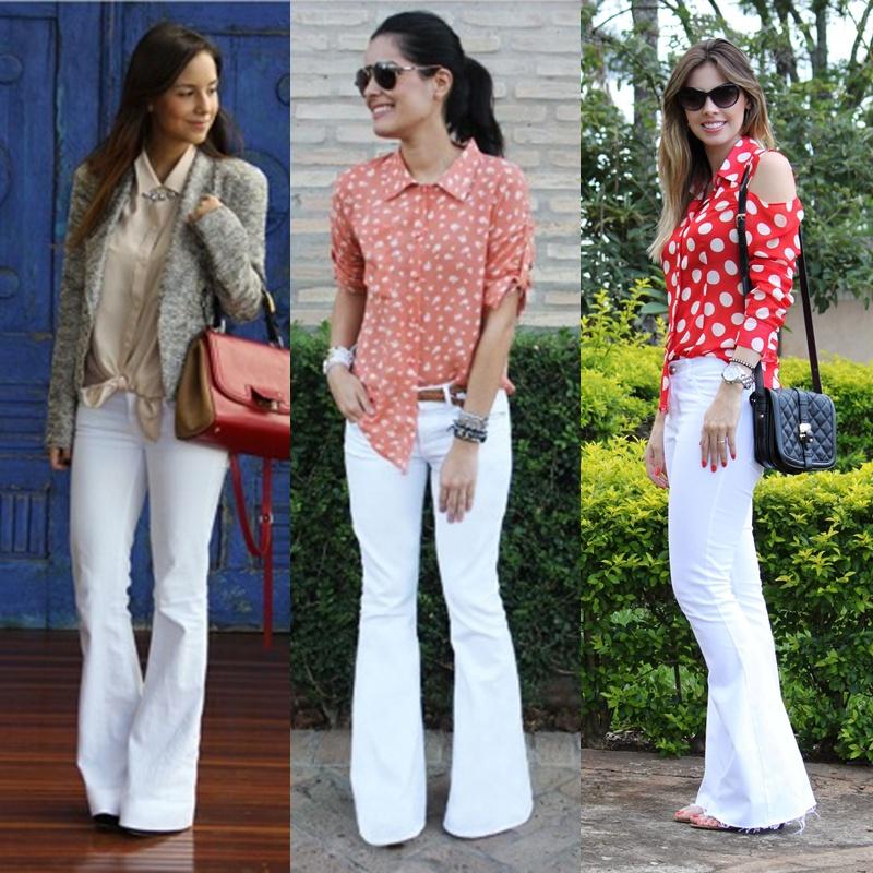 Calça branca, peças brancas para o inverno, looks com branco, como usar, moda em joinville