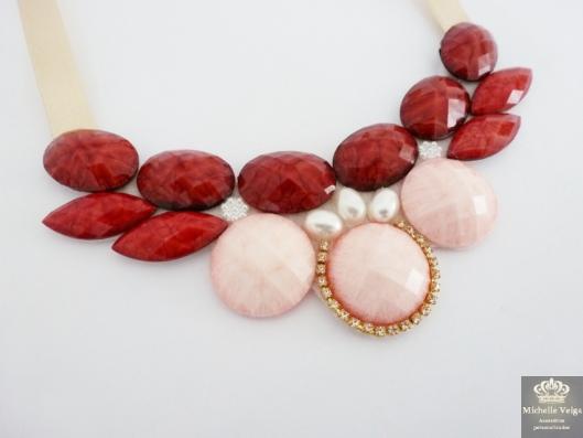 maxi colar vermelho, comprar, loja online, com perolas, acessorios
