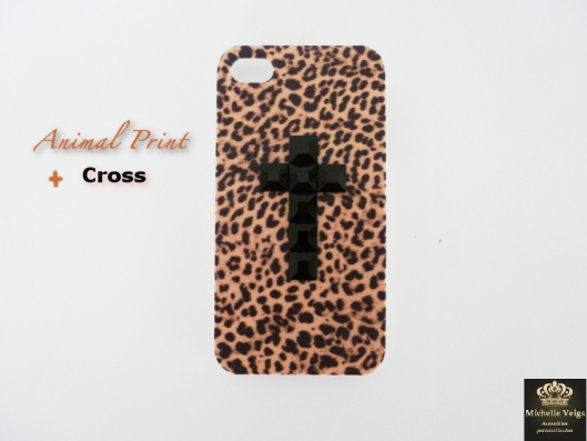 capinha de onça, animal print, cruz, onde comprar, loja online, cruz, cross, capa com cruz, iphone4, fashion