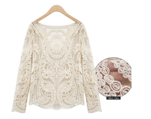 Blusa renda, blusa rendada, bege, off white, comprar, loja online, renda, primavera2014, verao 2014, preview