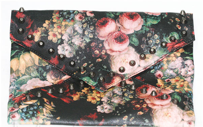 clucth com flores, clutch florida, venda online, comprar online, bolsas, bolsa de mao
